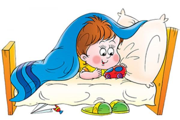 Глеб под одеялом