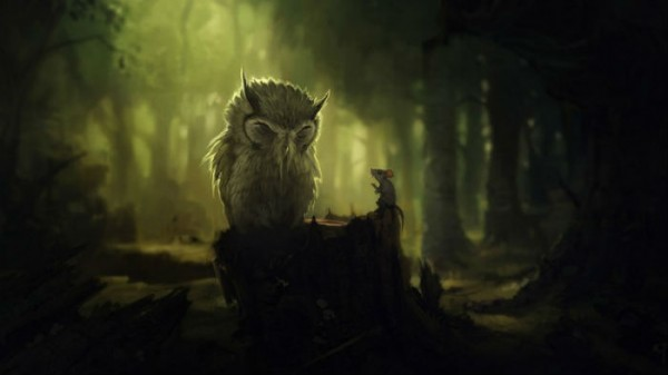 Сказка про лесовичка