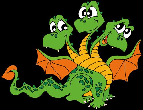 Сказка про жадного дракончика
