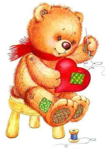 Сказка про медвежонка