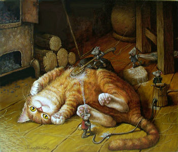 Считалка про кота и мышей
