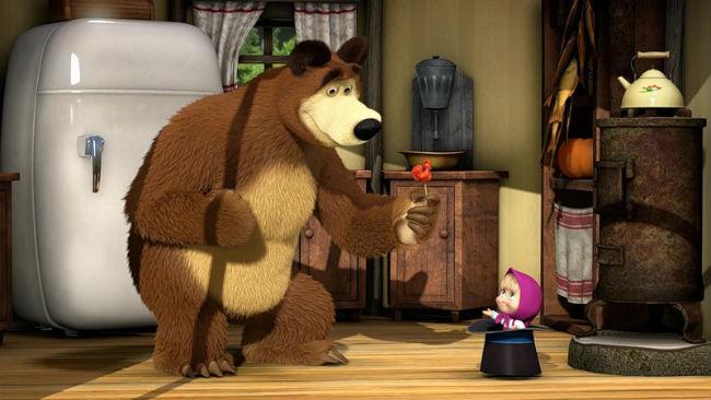 Маша в гостях у медведя