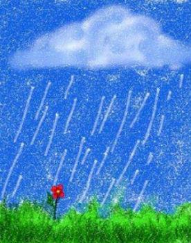 Дождик из тучки