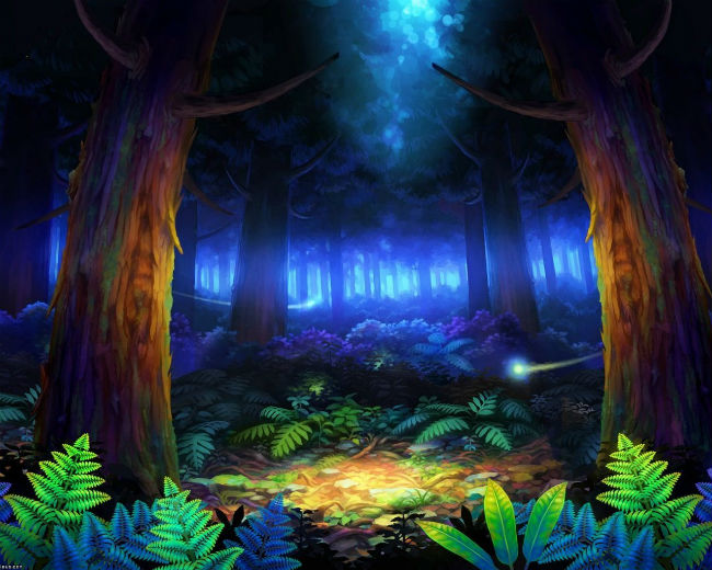 Звезда в лесу