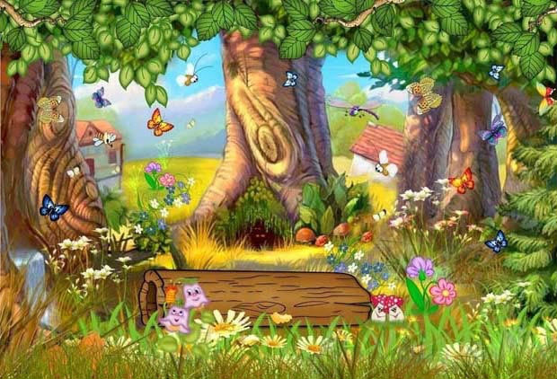 Картинка для детей эльфы