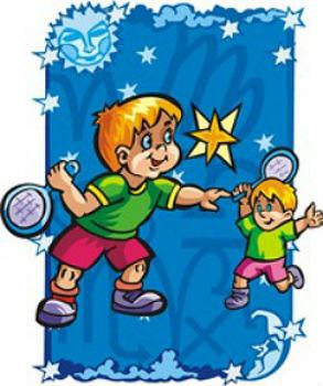 Гороскоп для малышей близнецов