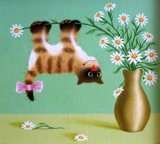 Котенок Полосатик