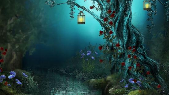 Лесные фонарики