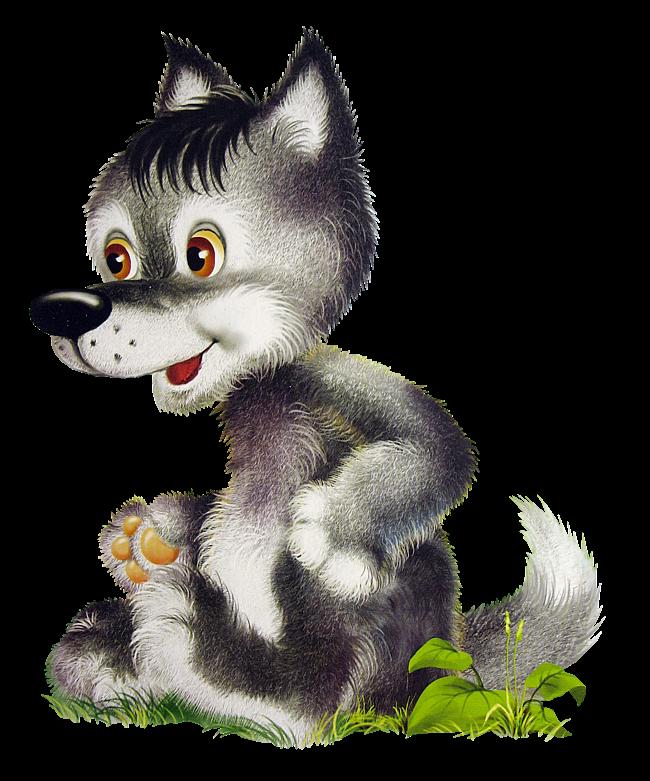 Волк детские картинки